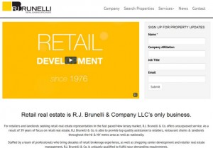 Retail Real Estate Website