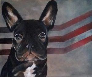Penelope, The French Bulldog.
